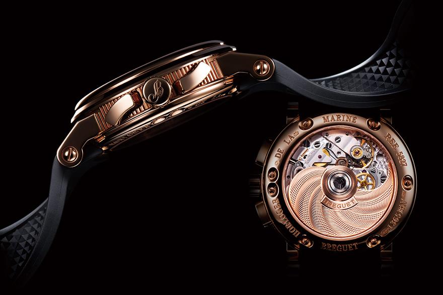 quality design 26f31 37451 ブレゲ マリーンの万有引力 | 高級腕時計専門誌クロノス日本版 ...