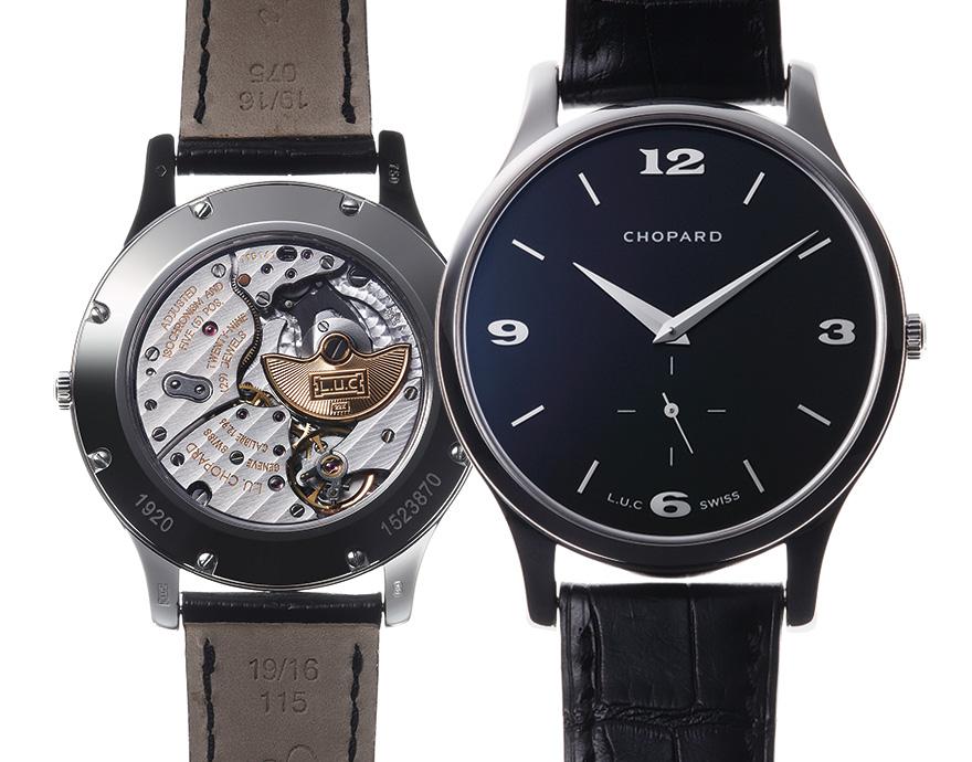 quality design 18f32 51b40 ショパール/L.U.C Part.3 | 高級腕時計専門誌クロノス日本版 ...