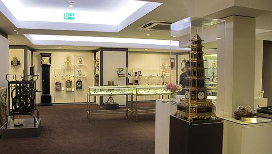 >べイヤー時計博物館