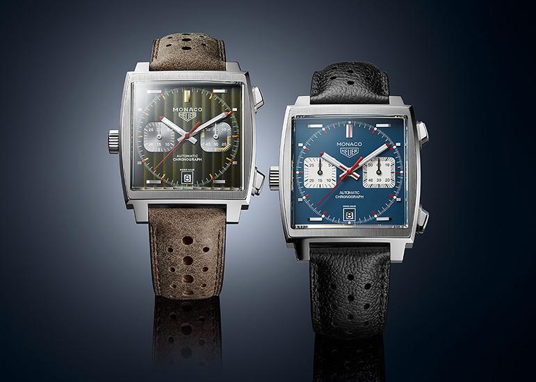 sale retailer b4363 e65b5 タグ・ホイヤー、モナコ50周年を祝うスペシャルエディションの第 ...
