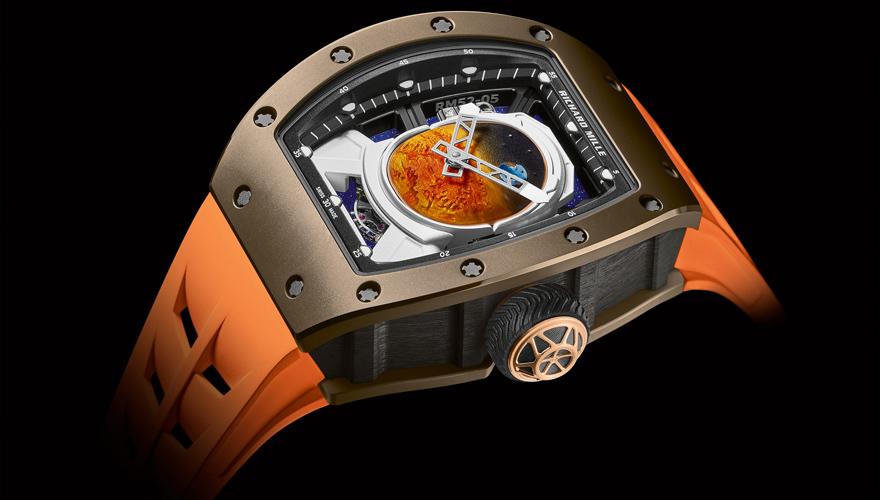 RM 52-05 トゥールビヨン ファレル・ウィリアムス