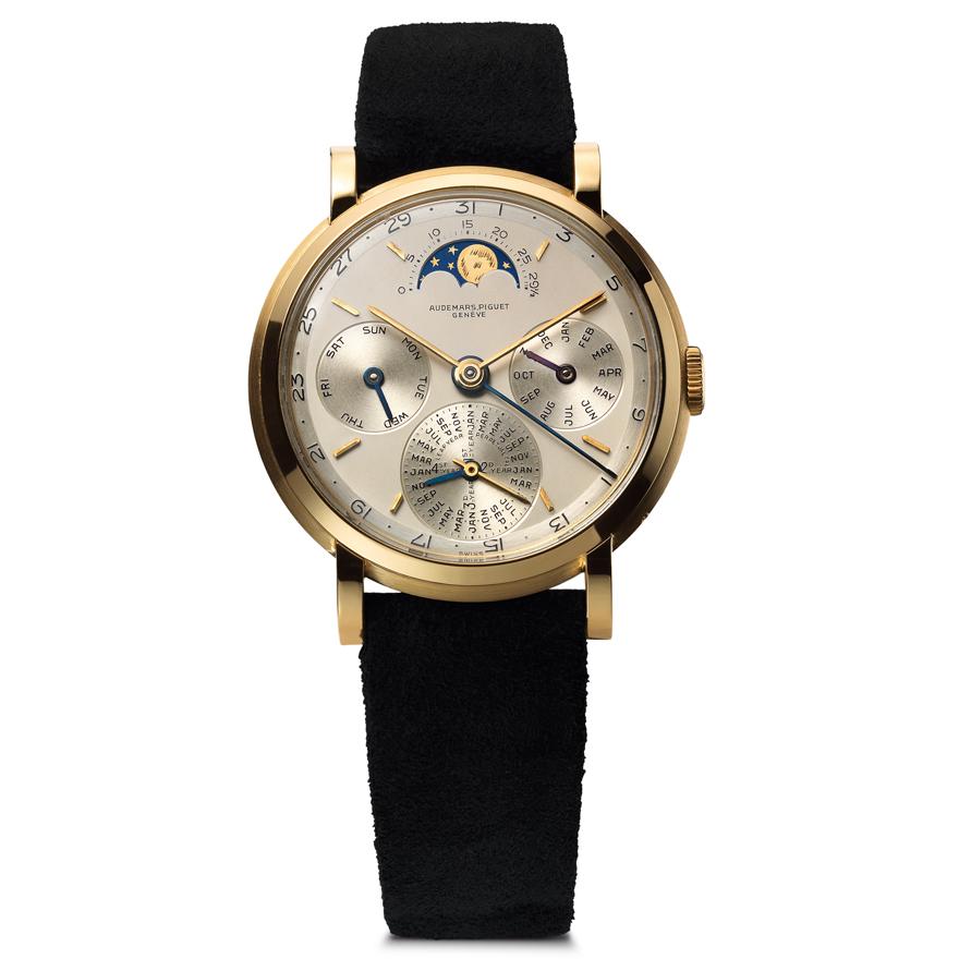パーペチュアルカレンダー搭載腕時計