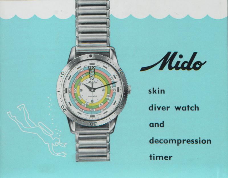オーシャンスター デコンプレッション タイマー 1961