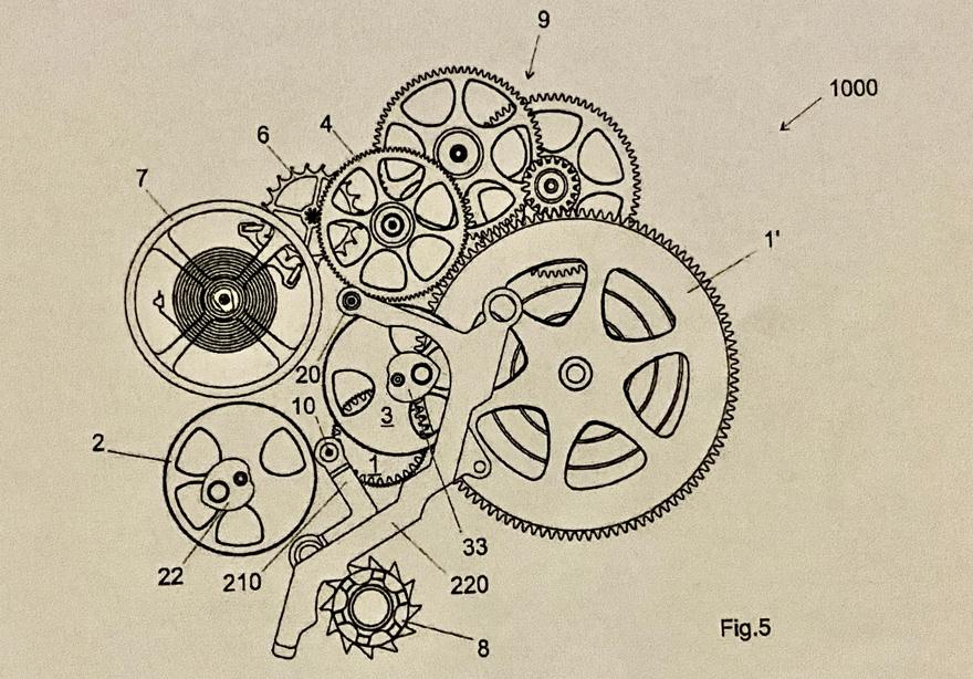リシャール・ミルの特許