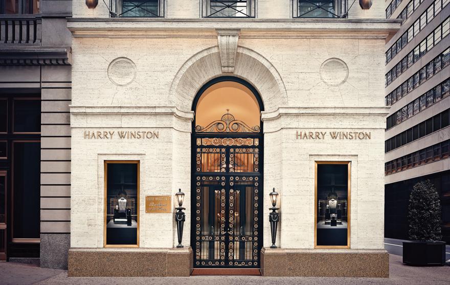 ハリー・ウィンストン本店