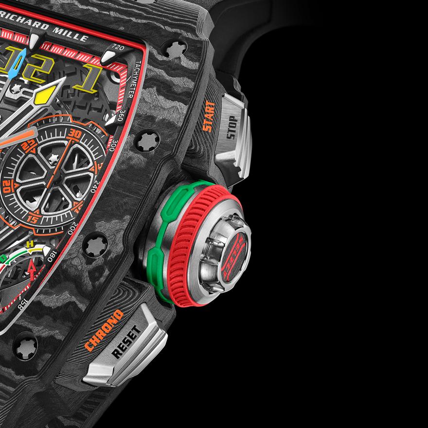 RM 65-01 オートマティック スプリットセコンド クロノグラフ