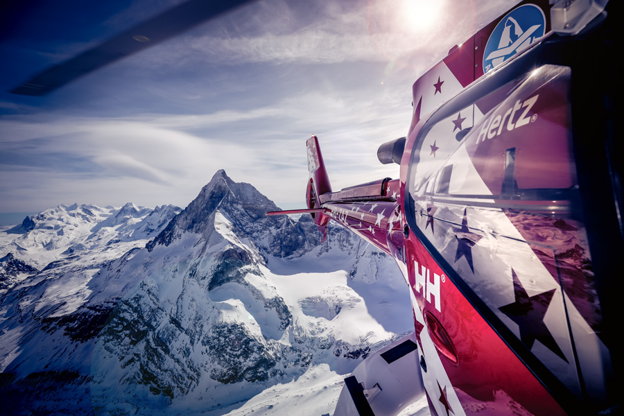 アルプス最高峰のマッターホルン
