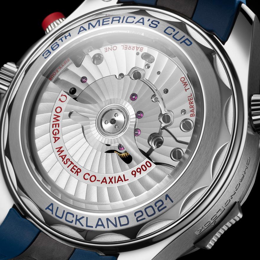 シーマスター ダイバー300M アメリカズカップ クロノグラフ