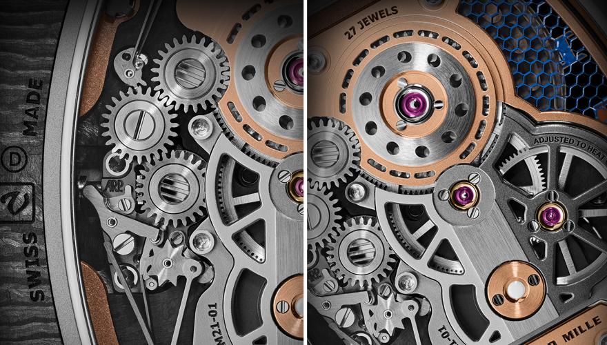 RM 21-01 トゥールビヨンエアロダイン