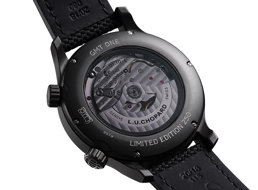 L.U.C GMT ワン ブラック