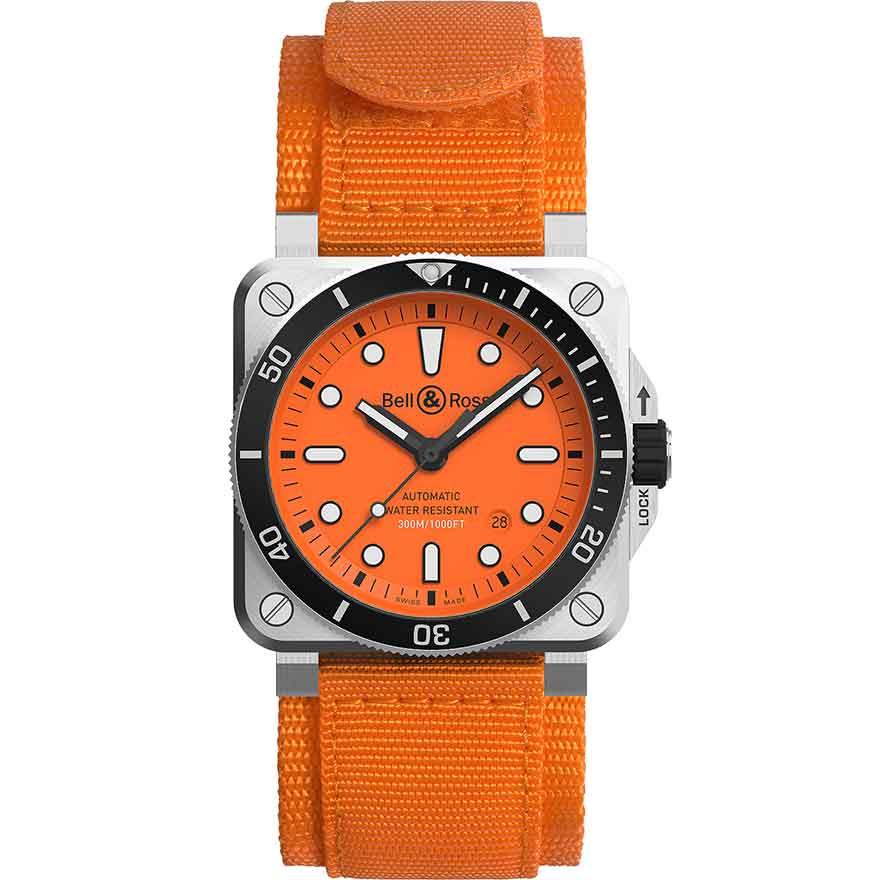 BR 03-92 ダイバー オレンジ