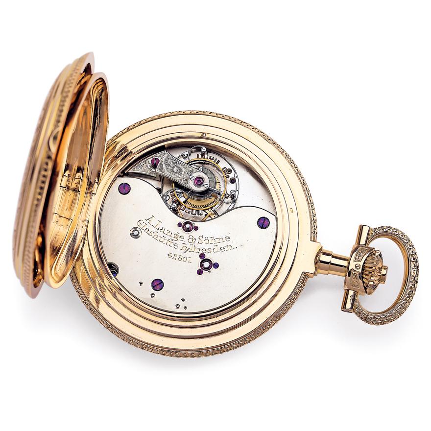 A.ランゲ&ゾーネの懐中時計