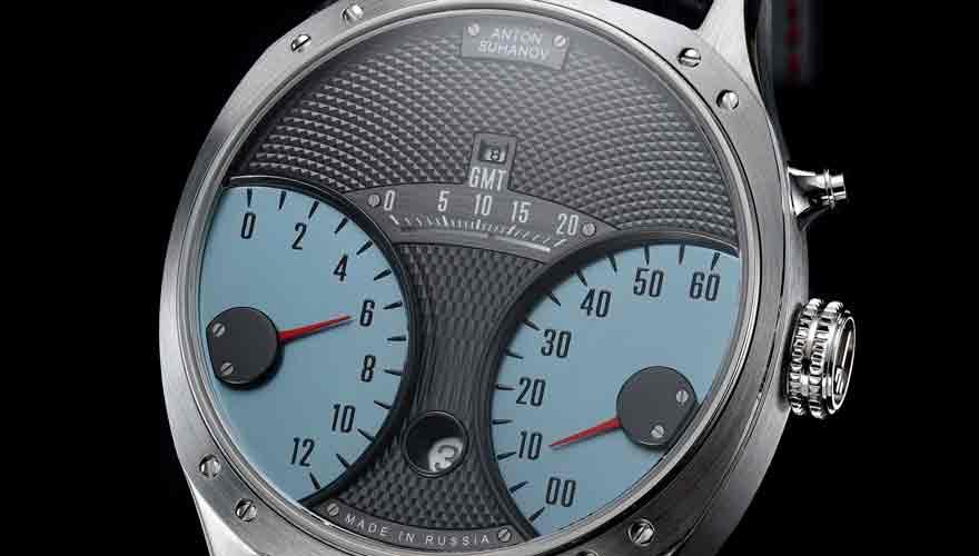 アントン・スハノフ レーサー ジャンピングアワー GMT