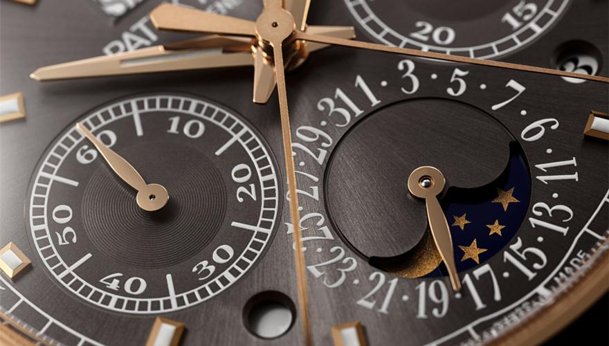 永久カレンダー搭載スプリット秒針クロノグラフ 5204R-011
